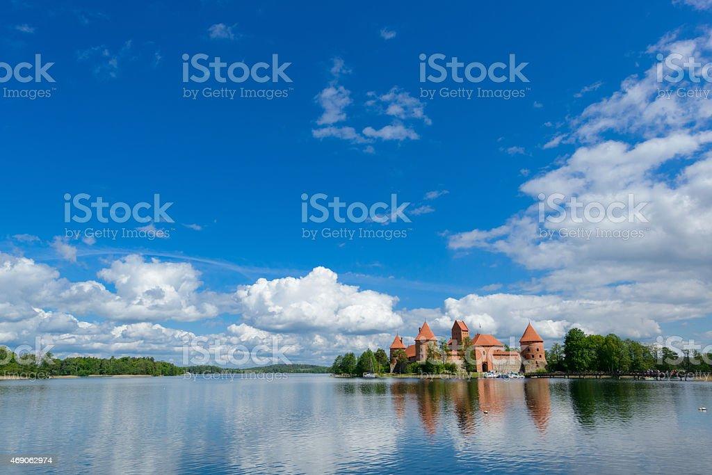 Trakai stock photo