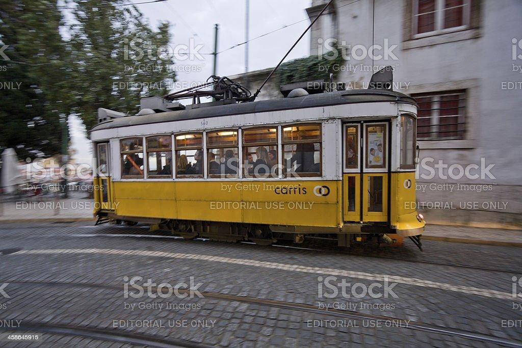 Tram 28 royalty-free stock photo