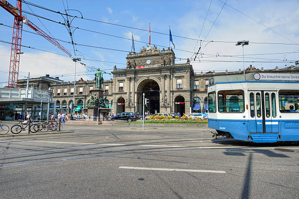 Straßenbahn-Pass Bahnhof – Foto