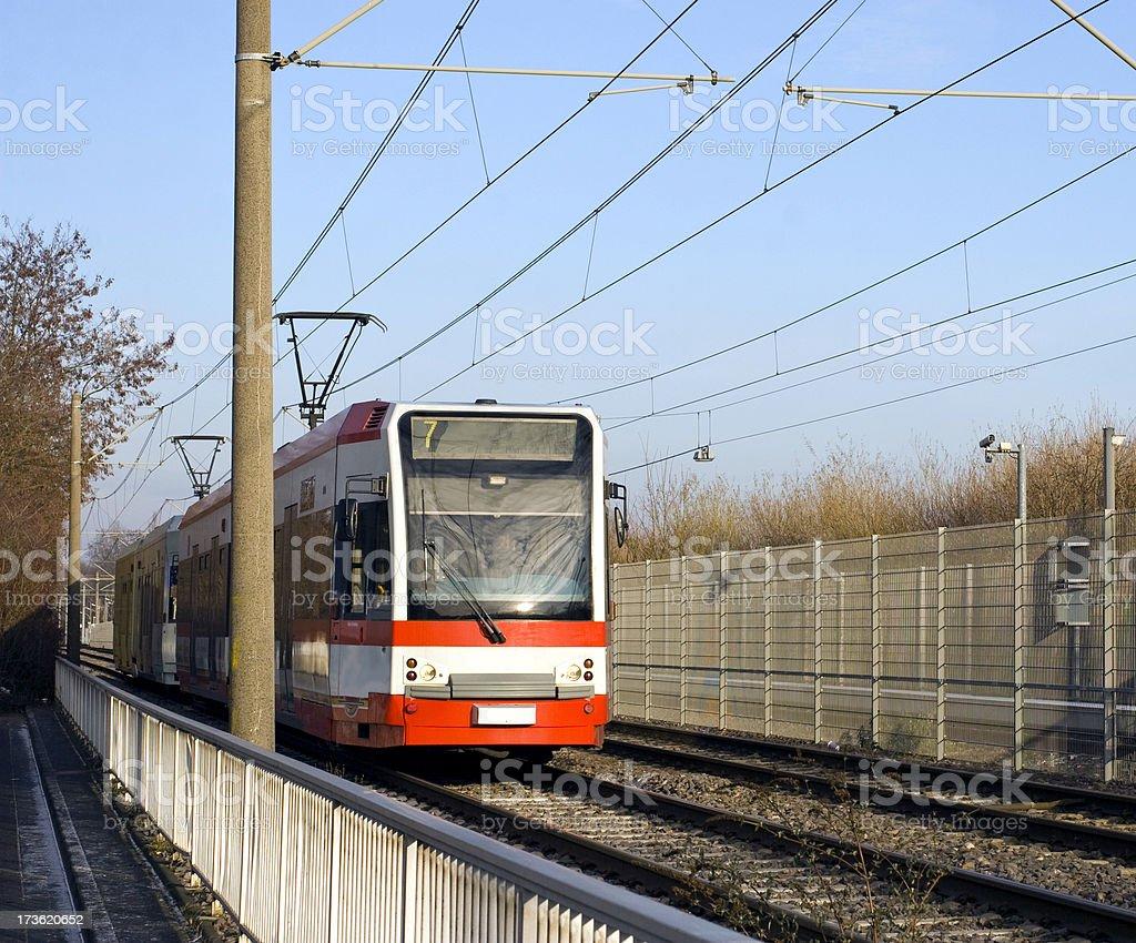 Die Straßenbahn - Lizenzfrei Ausrüstung und Geräte Stock-Foto