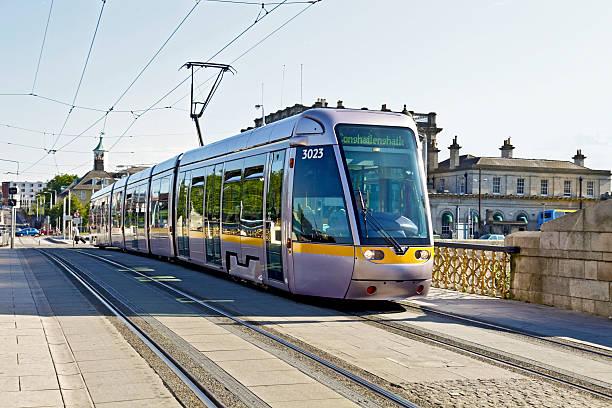LUAS tram: Sean Heuston Bridge, Dublin
