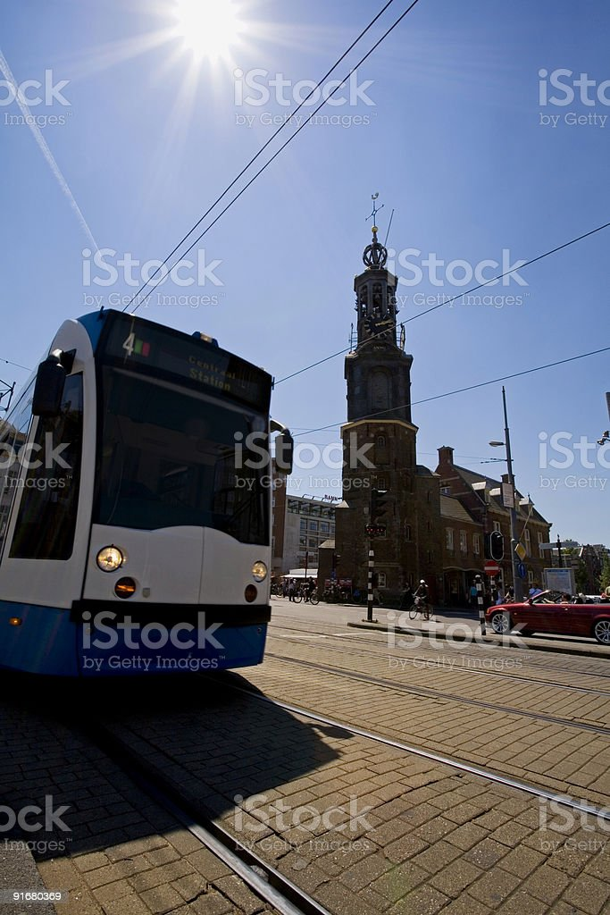 Tram01 royalty-free stock photo