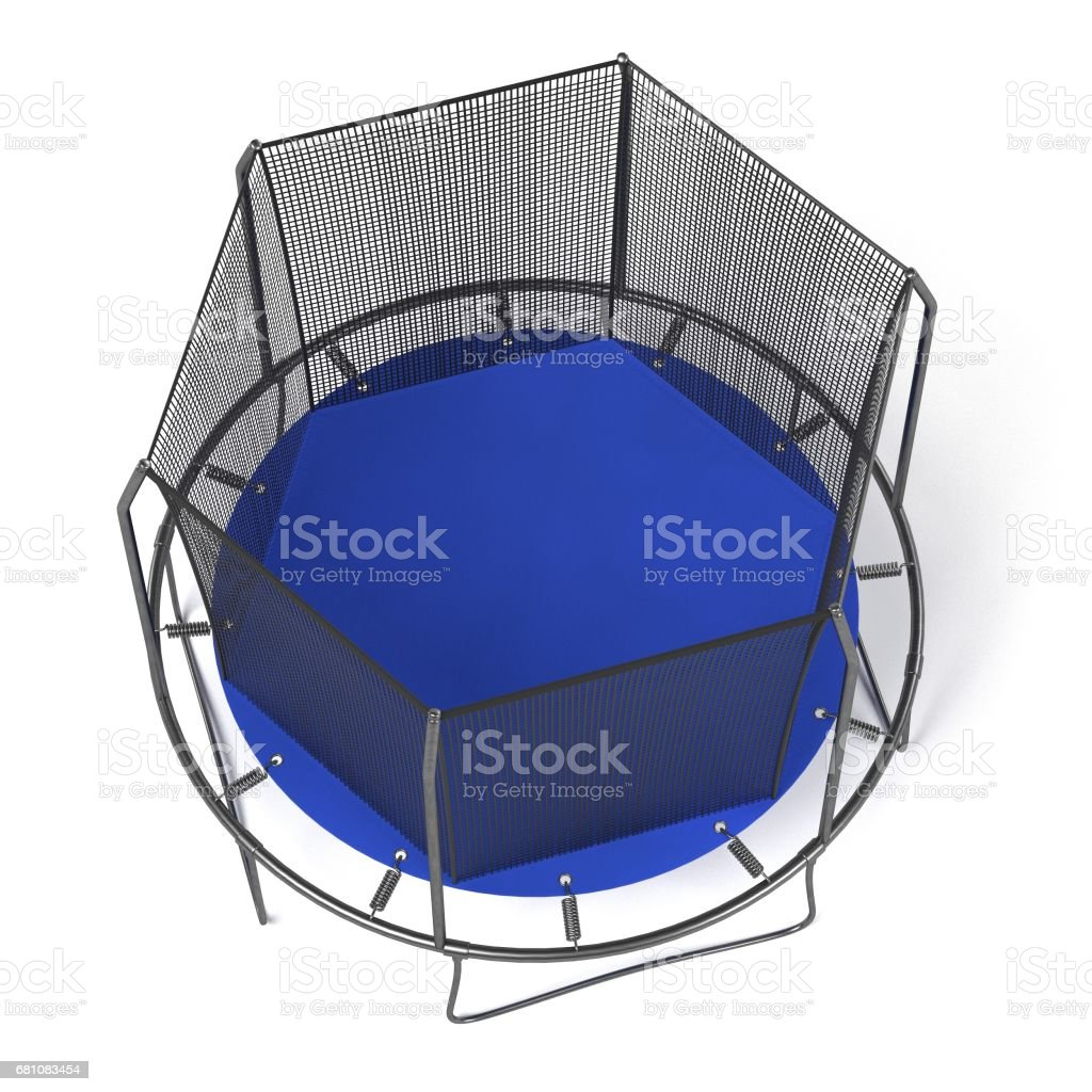 trampoline royalty-free stock photo