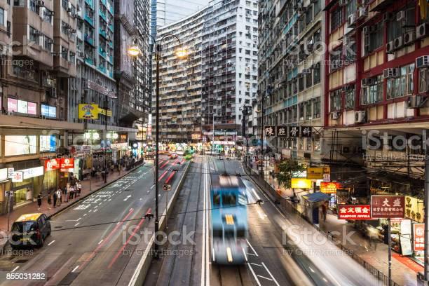 Tramway rushing in hong kong island at night picture id855031282?b=1&k=6&m=855031282&s=612x612&h=er kiwtkmsdeoo4qxgey46clmul2gnie5yxjr07lwlm=