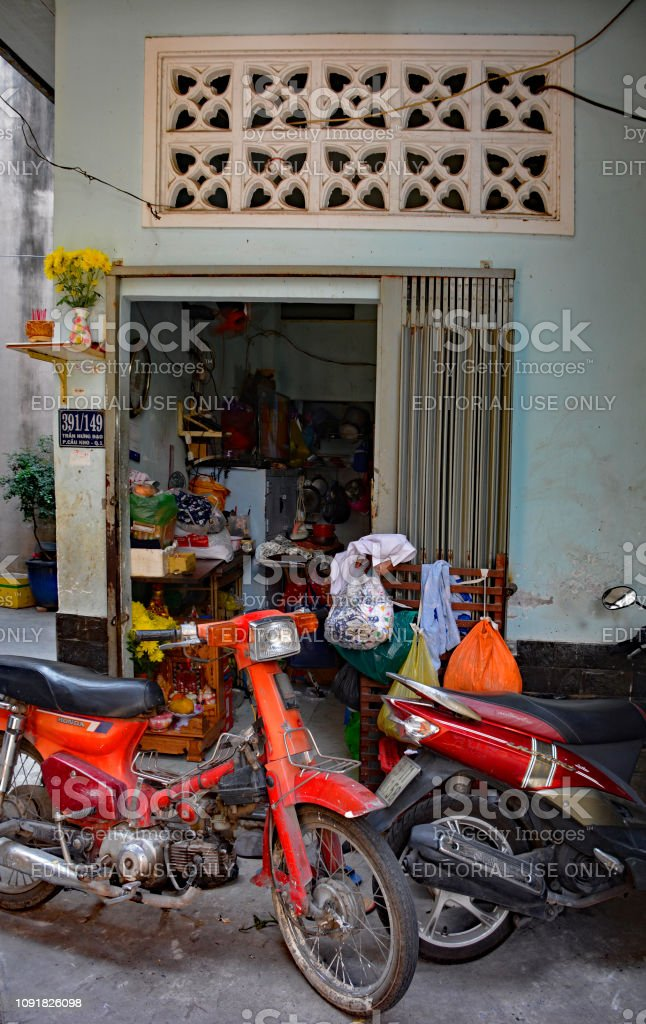 Tran Hung Dao Alleys Stock Photo Download Image Now Istock