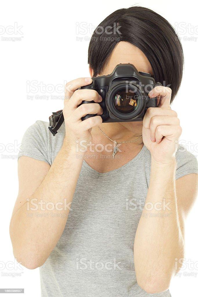 Trangender woman royalty-free stock photo