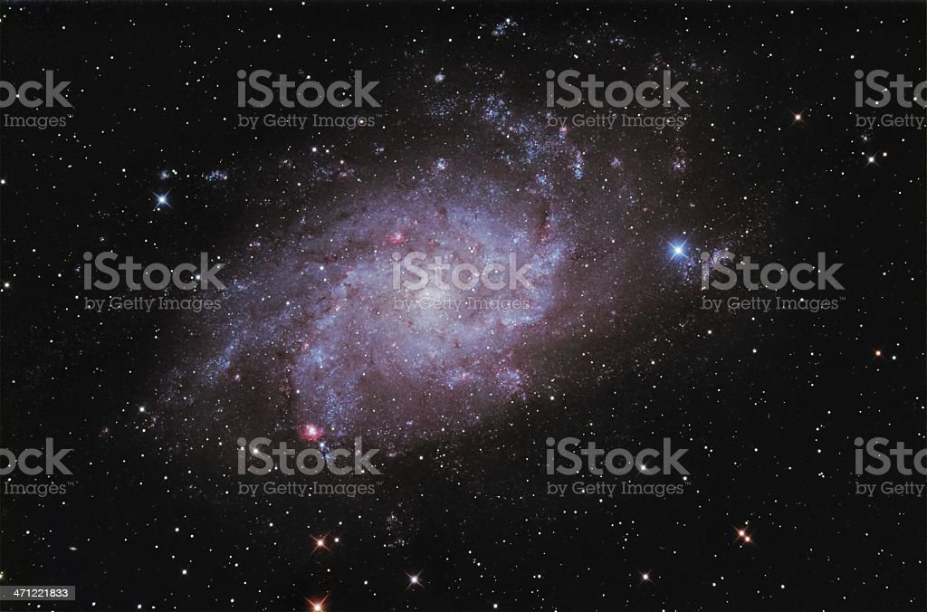 Trangulum Galaxy royalty-free stock photo