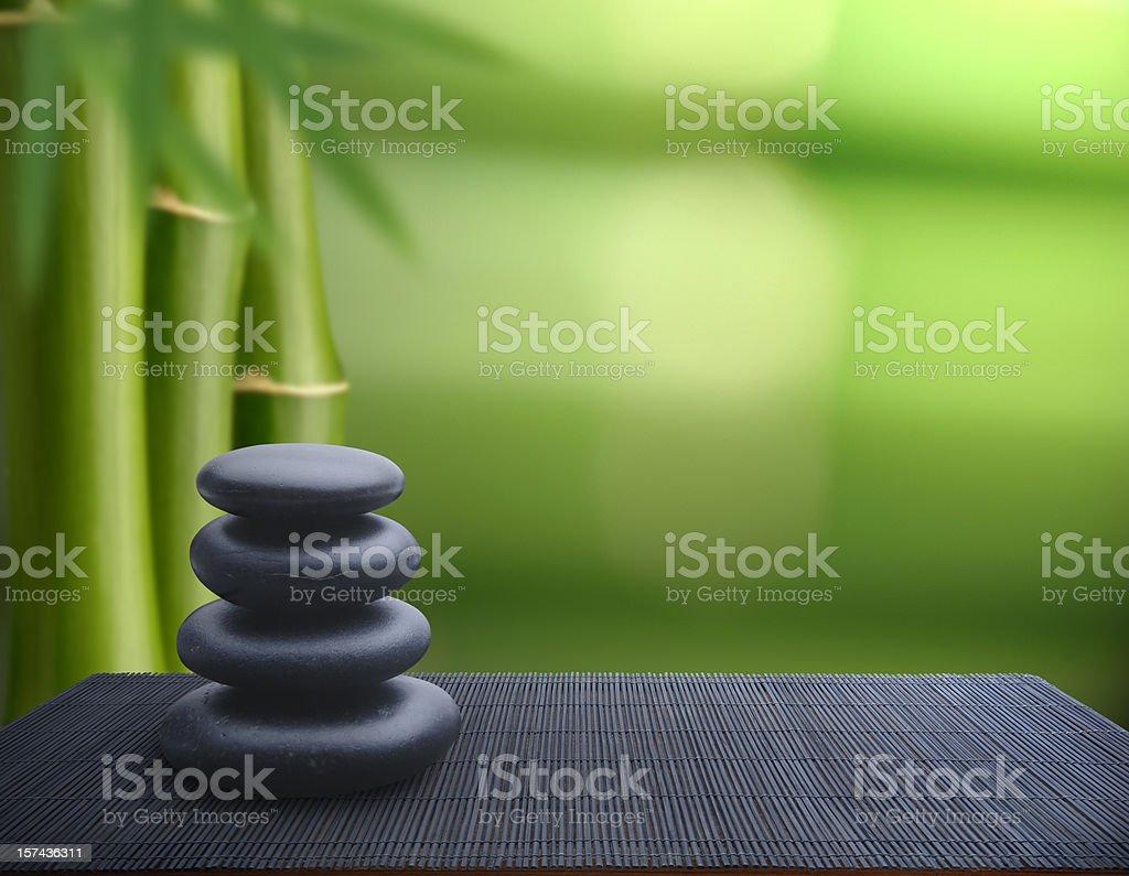 Tranquil Balance stock photo