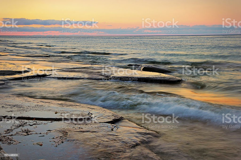 Tranquil Dusk stock photo