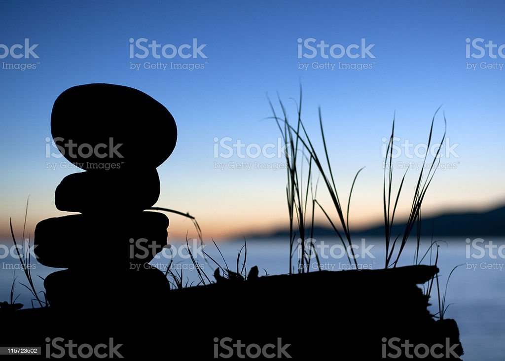 Tranquil Evening royalty-free stock photo