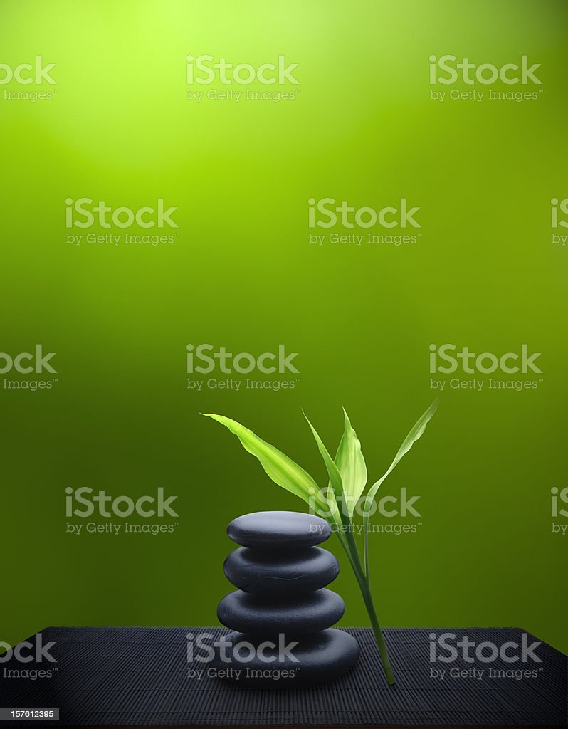 Tranquil Feng Shui royalty-free stock photo