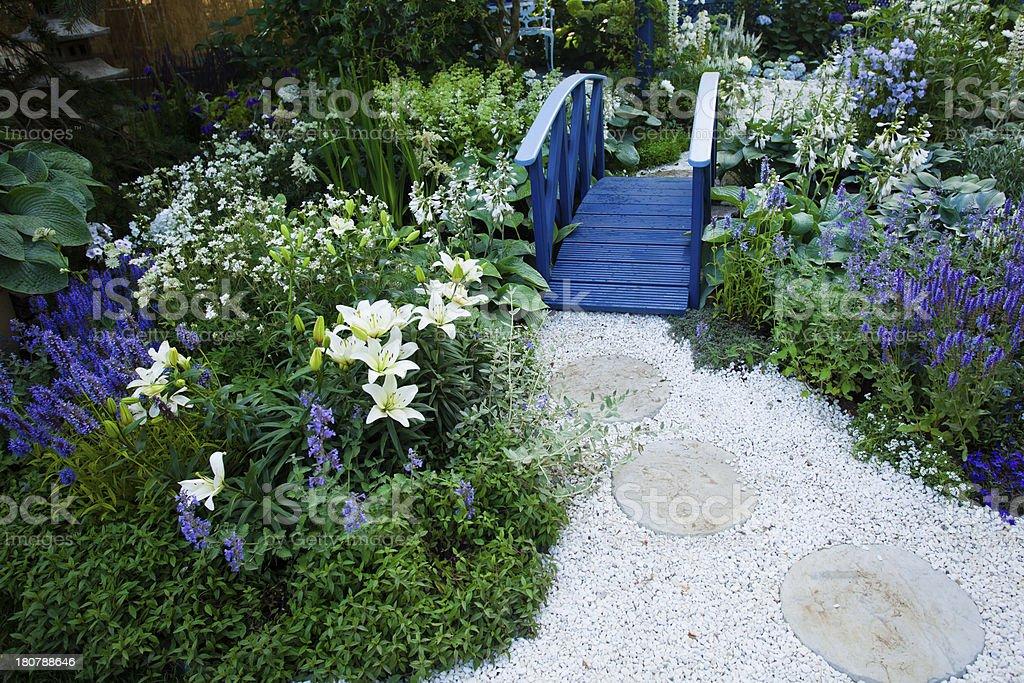 Ruhigen Garten – Foto