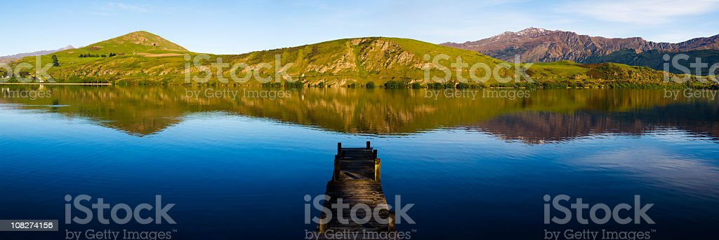 Tranquil Lake royalty-free stock photo