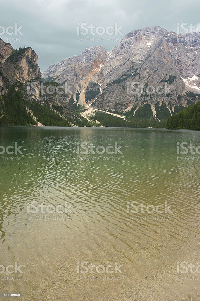 Tranquil landscape in Tirol royalty-free stock photo