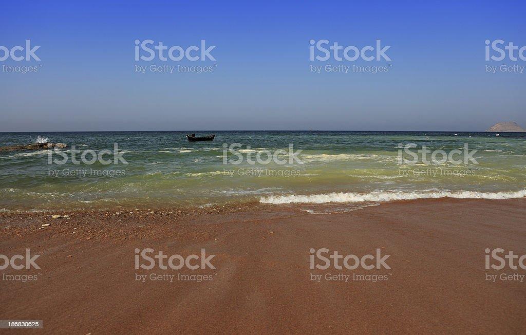 Tranquil Minimalist Arabian Sea Karachi Mubarak Village