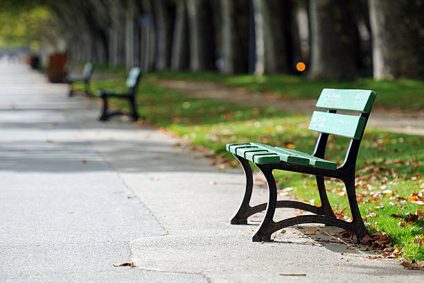 Parc paisible Bench-XL - Photo