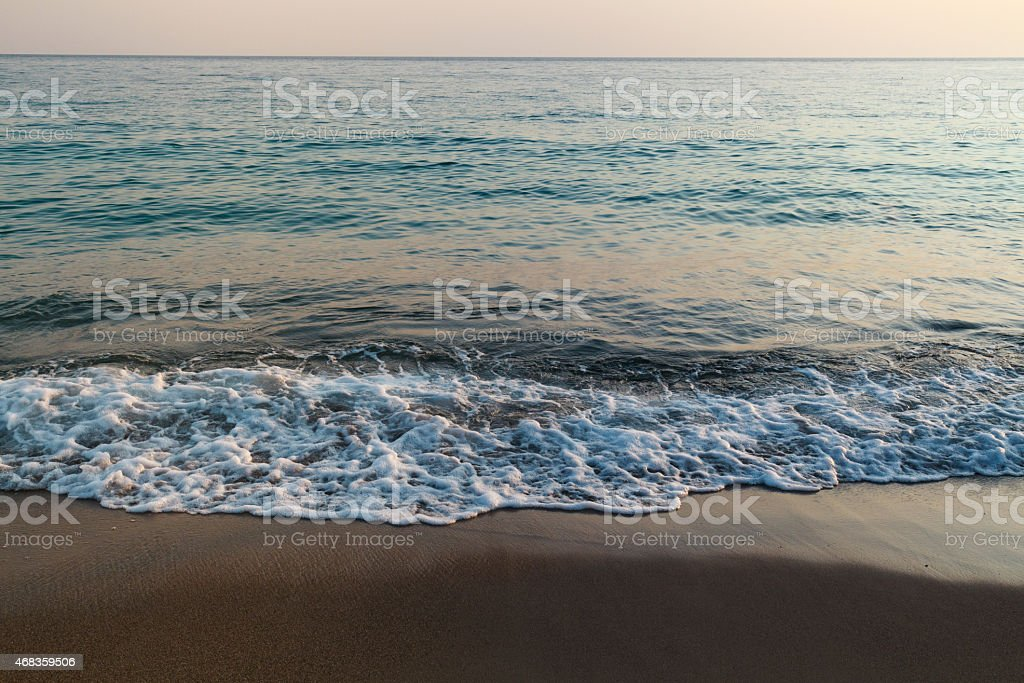 Tranquil sea landscape royalty-free stock photo