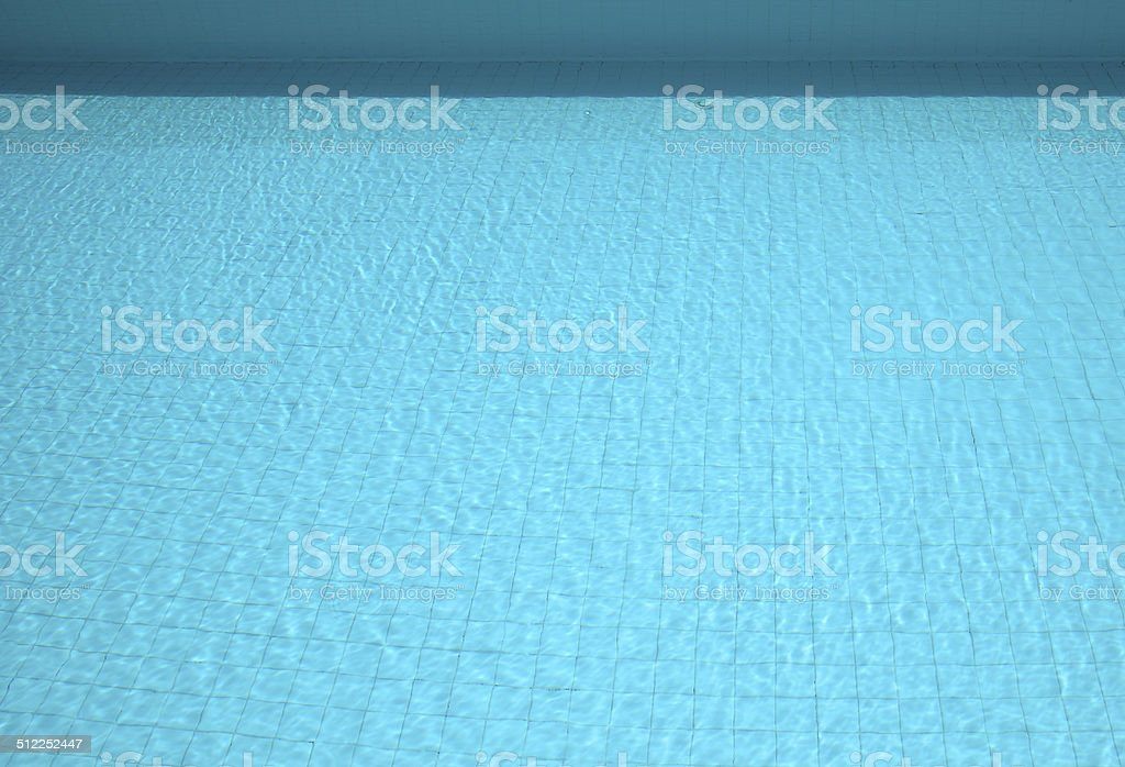 tranquil swimming pool background stock photo