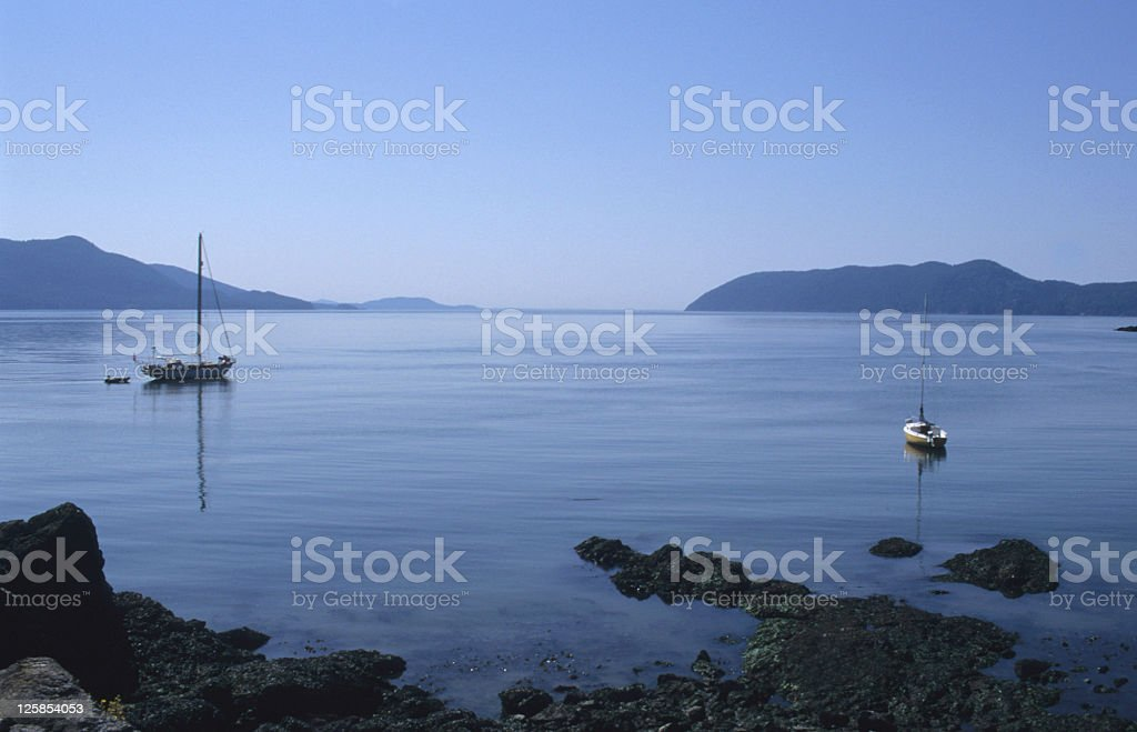 Tranquility in Orcas Island royalty-free stock photo