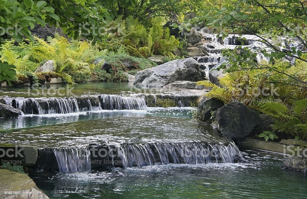 Tranquility is fluidity stock photo