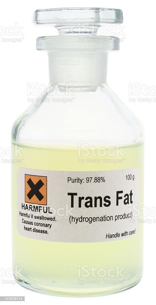 Trans Fat royalty-free stock photo