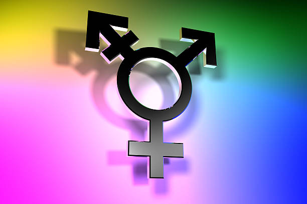 trans gender symbol - transsexual stock photos and pictures