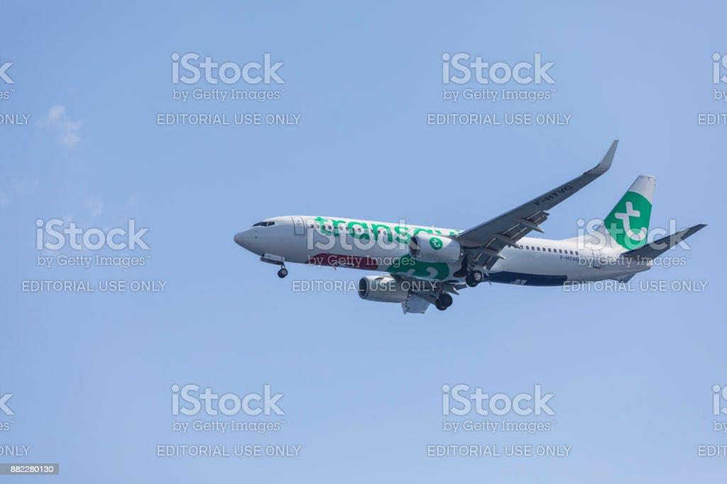 Transavia passenger airplane – zdjęcie