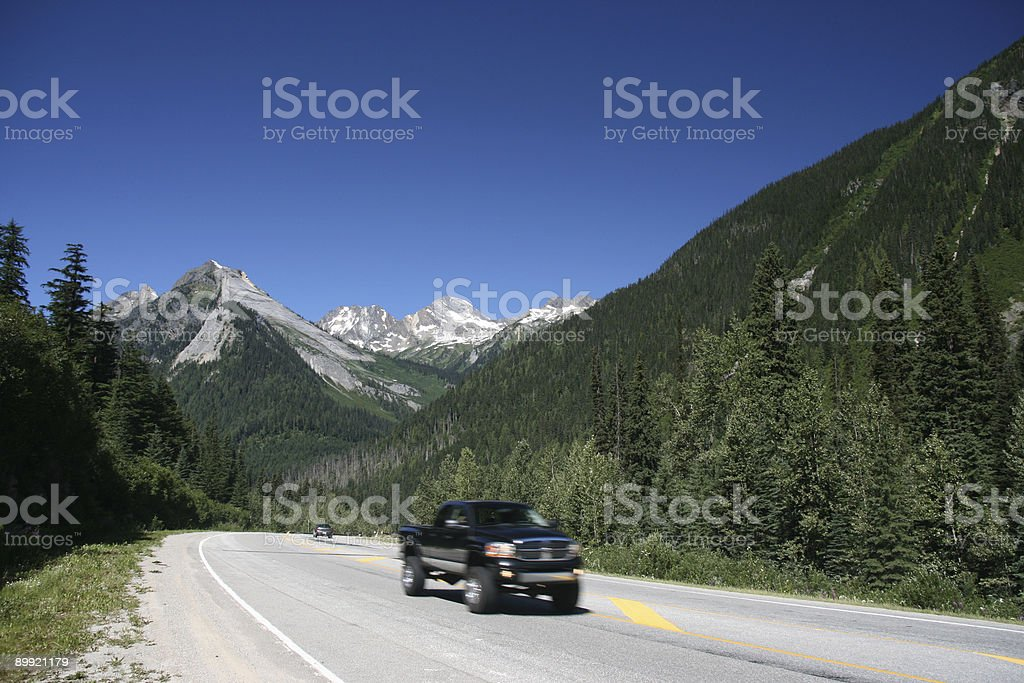 Trans-Canada Highway stock photo