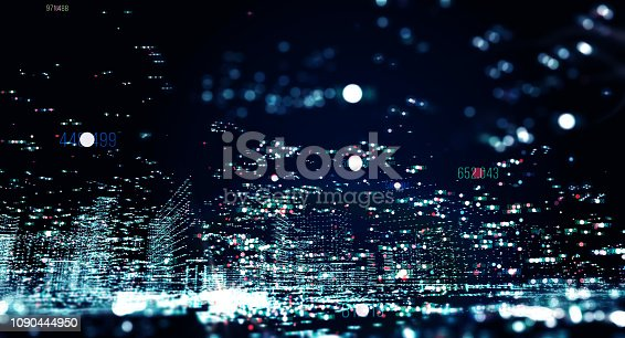 istock Transfer and storage of data sets 1090444950