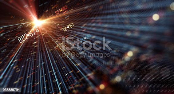 istock Transfer and storage of data sets 953889794