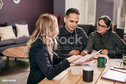 istock Transferring title to family member 869448656