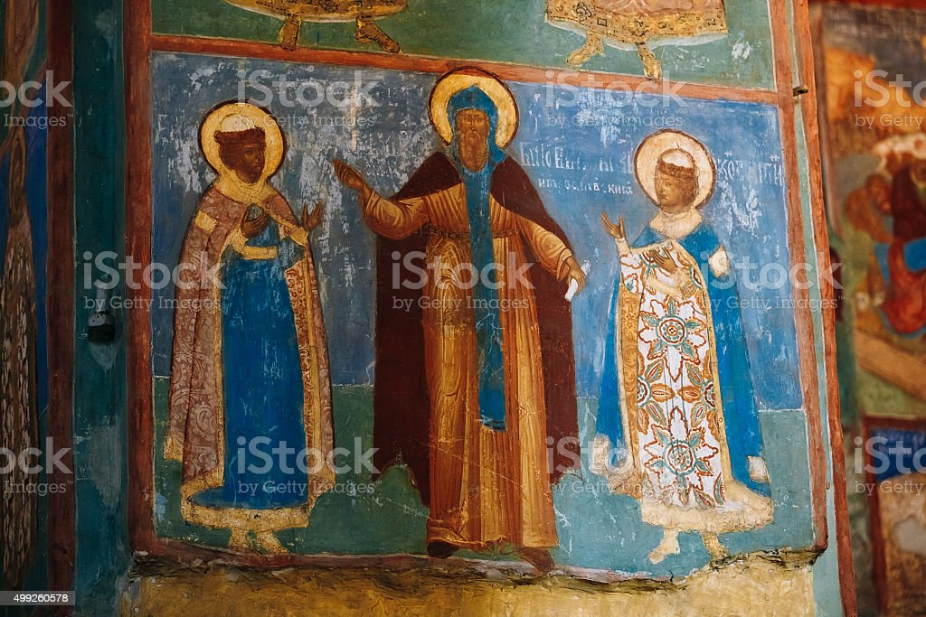 Cattedrale della Trasfigurazione nel Monastero di San Euthymius in Suz - foto stock