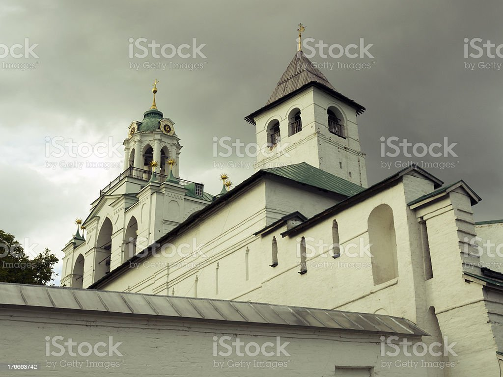 Transfiguration of the Saviour, Yaroslavl royalty-free stock photo