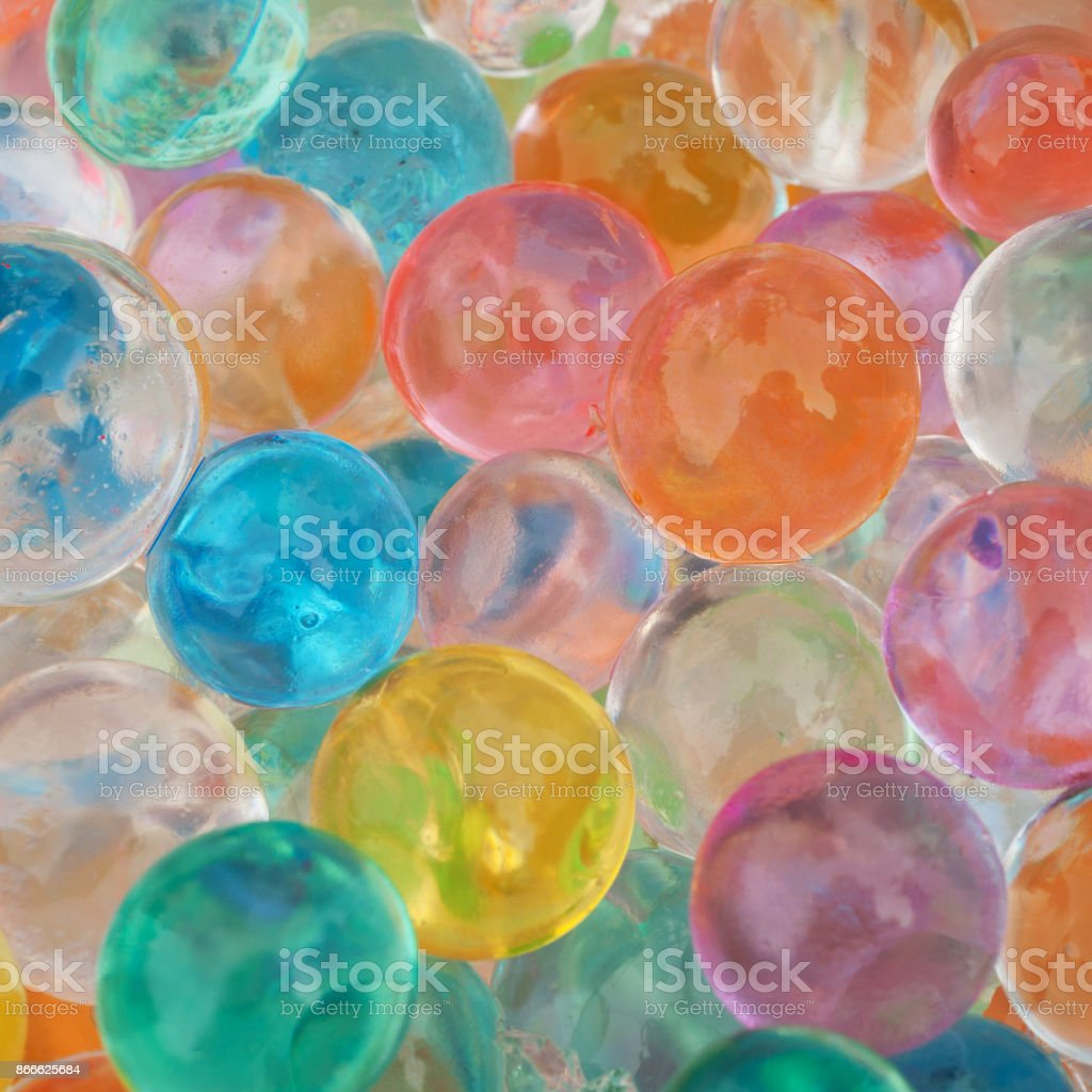 Transflective bubbles stock photo