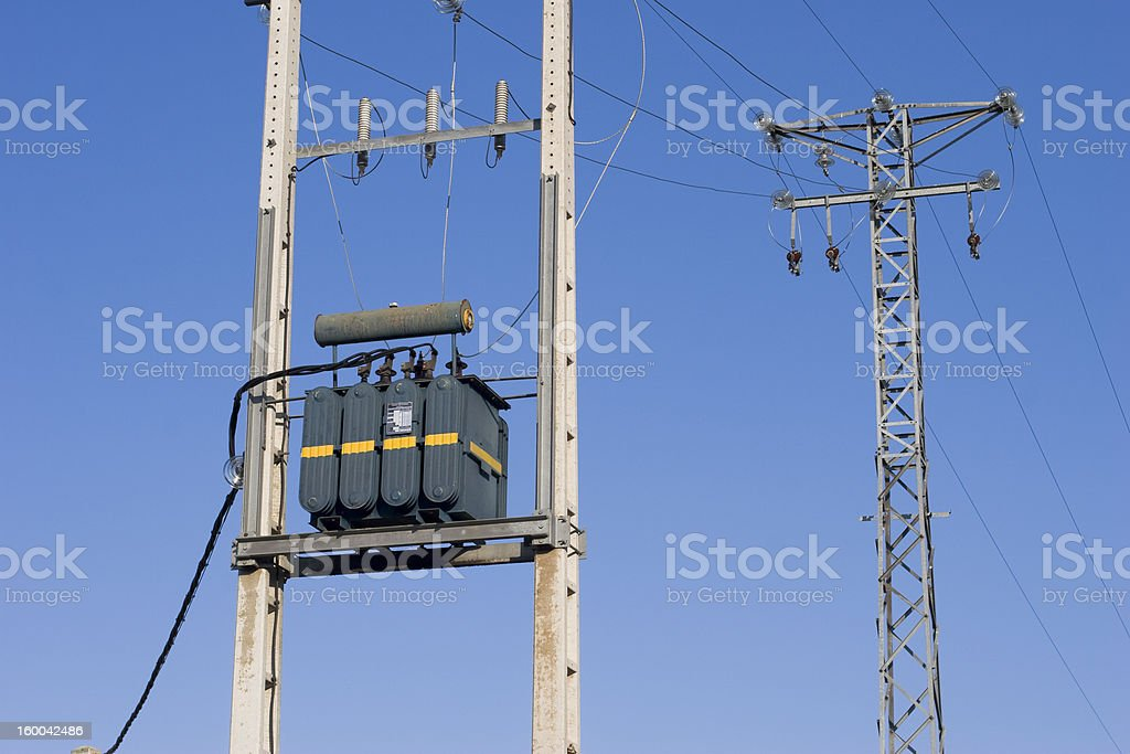 Transformer royalty-free stock photo