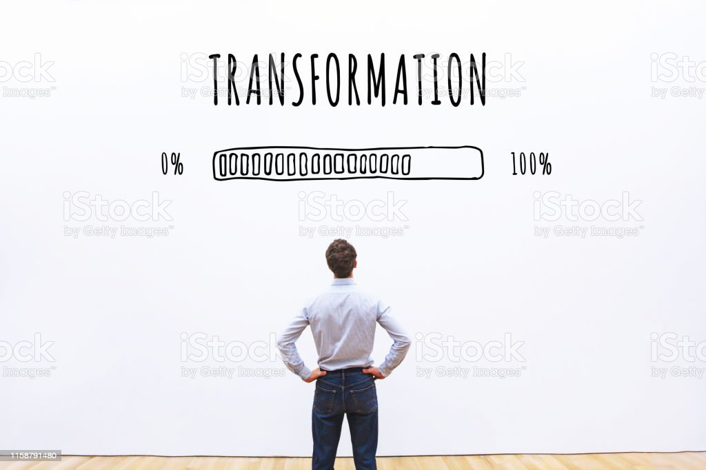 transformation business concept - Royalty-free Abstract Stock Photo