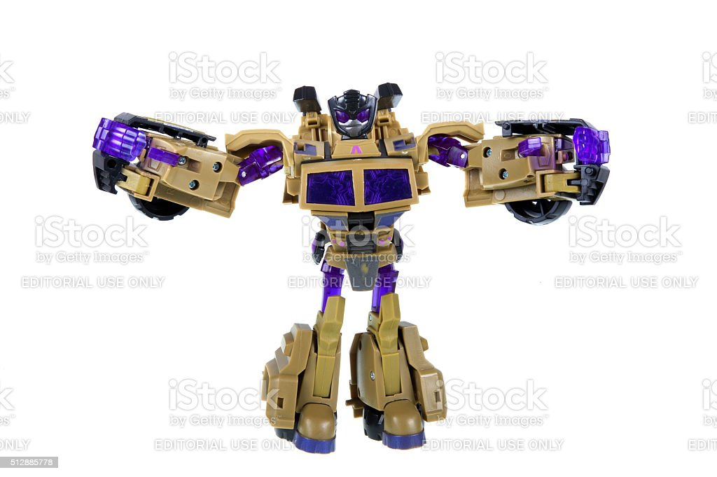 Transformers Action Figure stock photo