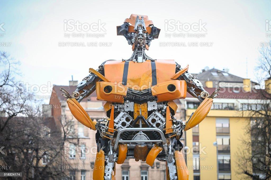 Trasformatori protezione Zagabria - foto stock
