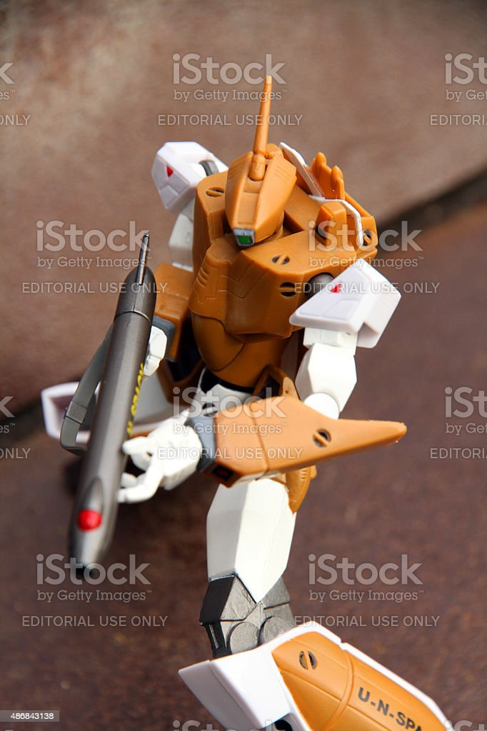 Transforming Defender stock photo