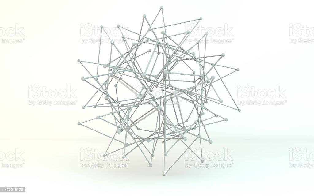 transforming sphere stock photo