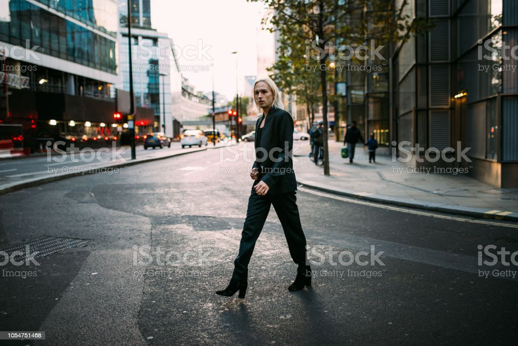 7ace08e3f6 Transgender Person In London Stock Photo & More Pictures of Adult ...
