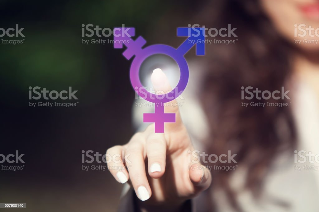 Transgender. stock photo