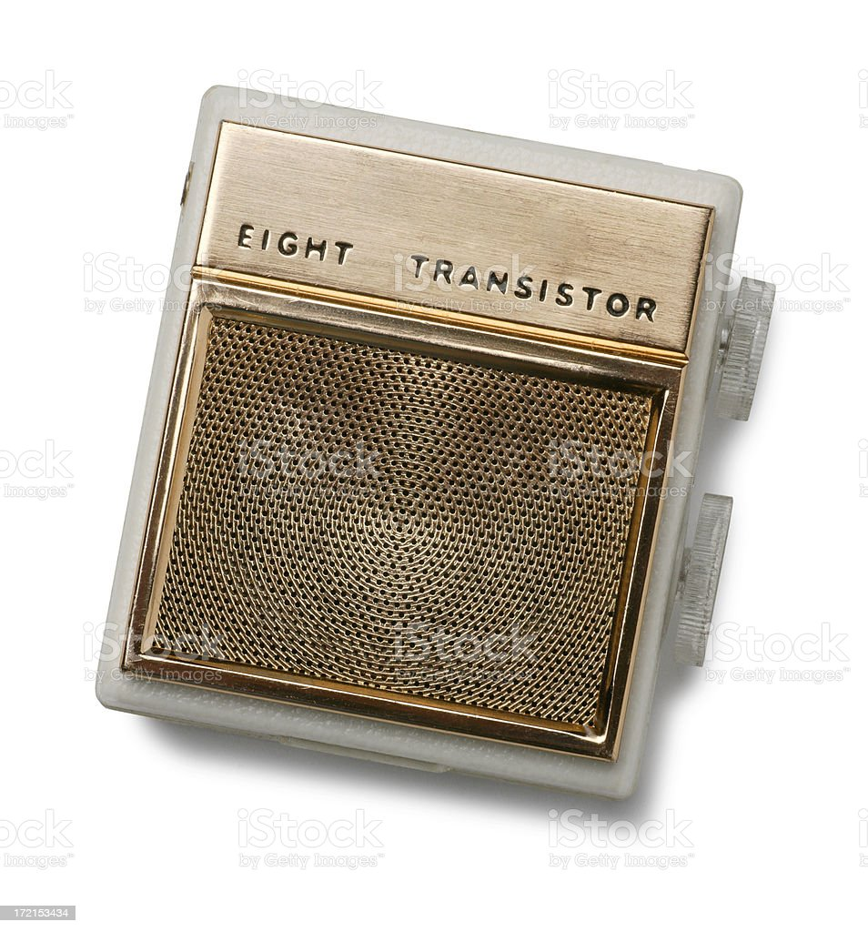 Transistor Radio royalty-free stock photo