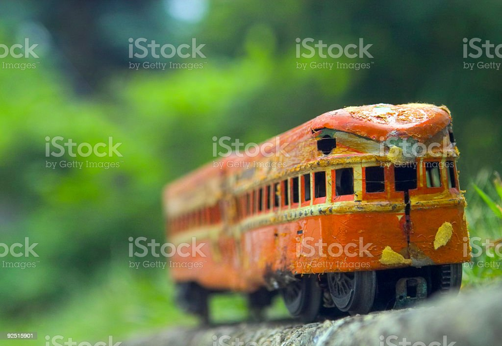 Transit Car royalty-free stock photo