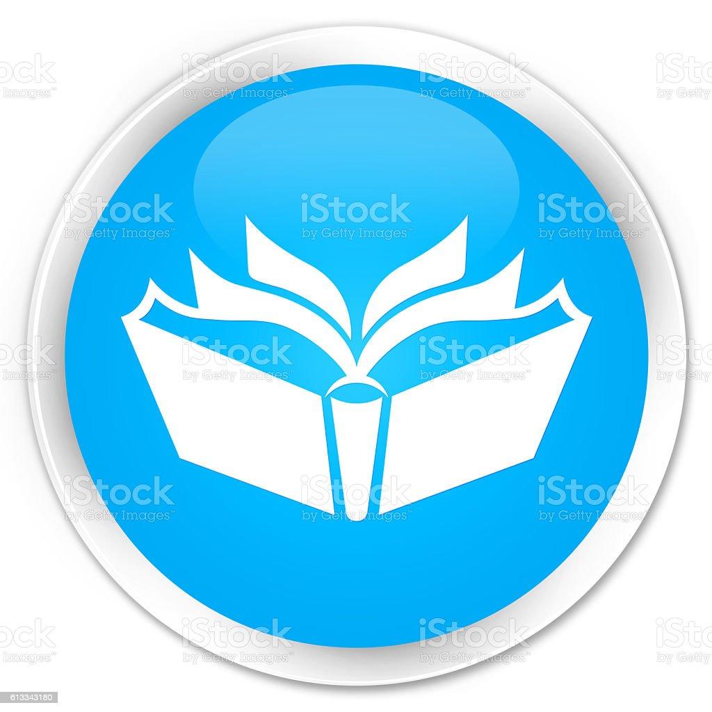 Translation icon cyan blue glossy round button - foto stock