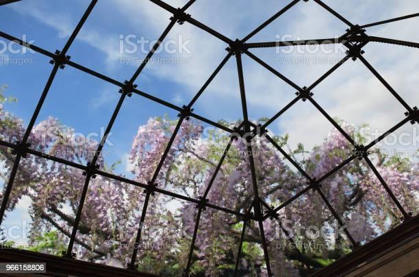 Genomskinligt Glas Eiling Av En Veranda Inuti Visa-foton och fler bilder på Arkitektur