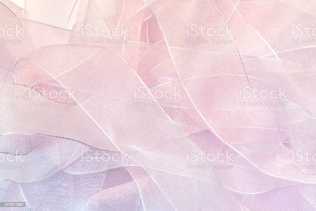 Translucent ribbons. background texture stock photo