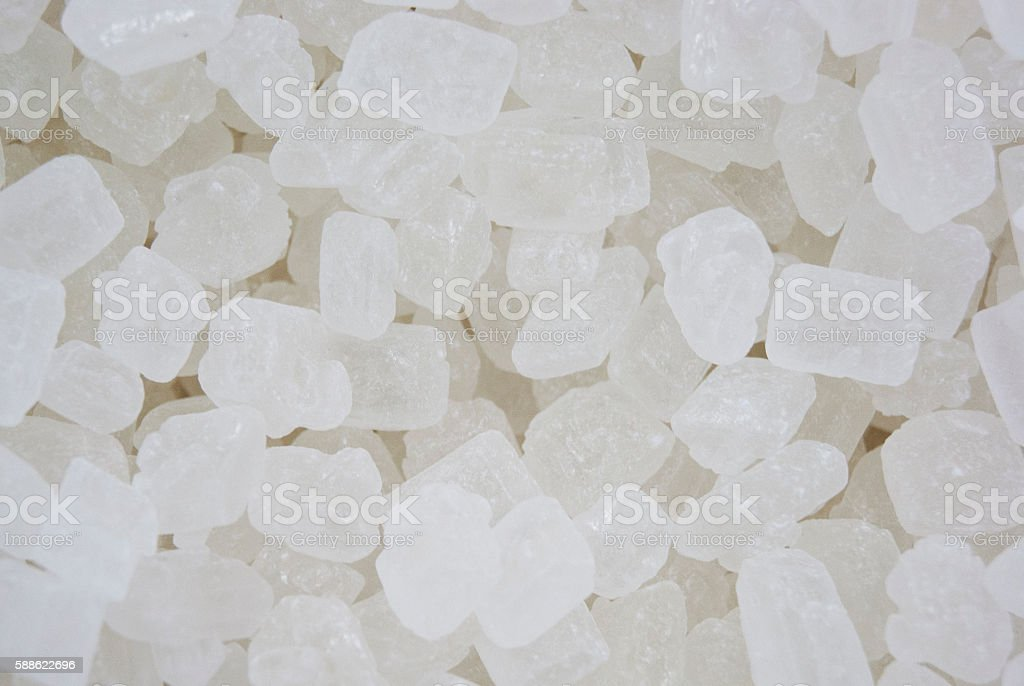 Translucent Rock Candy stock photo