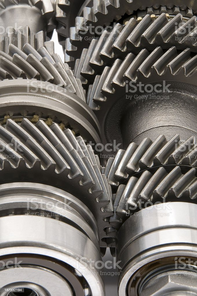 Transmission Gears - Close up royalty-free stock photo