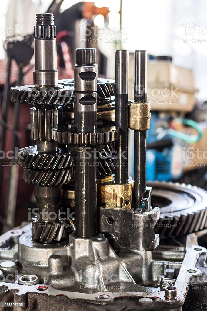 transmission gearshift stock photo